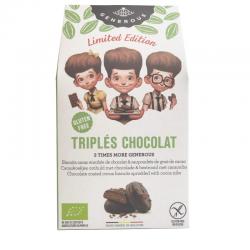 Biscotti Triplés Chocolat BIO
