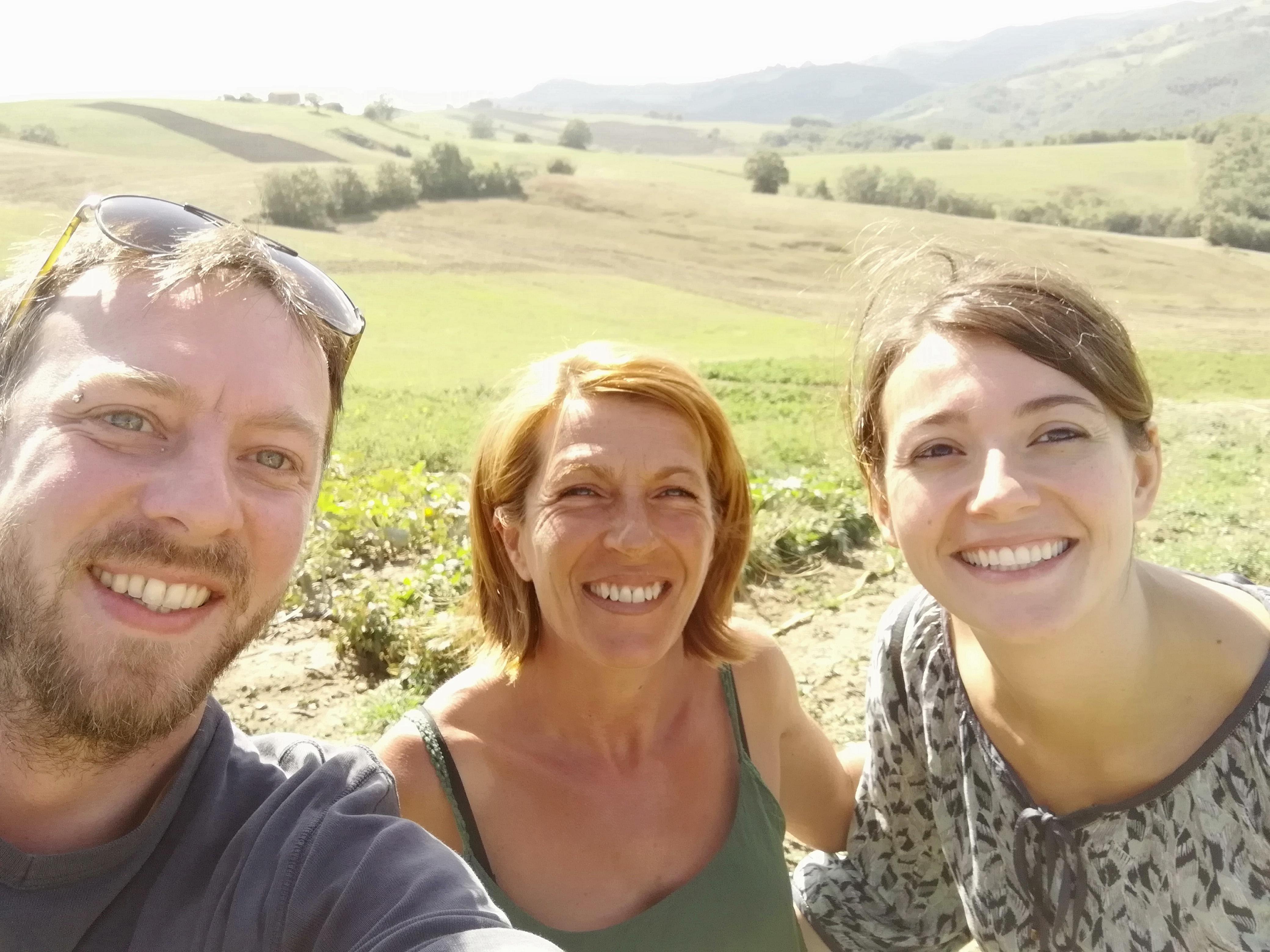 Matthieu, Paola, Cinzia