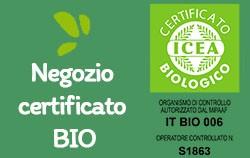 Negozio certificato BIO